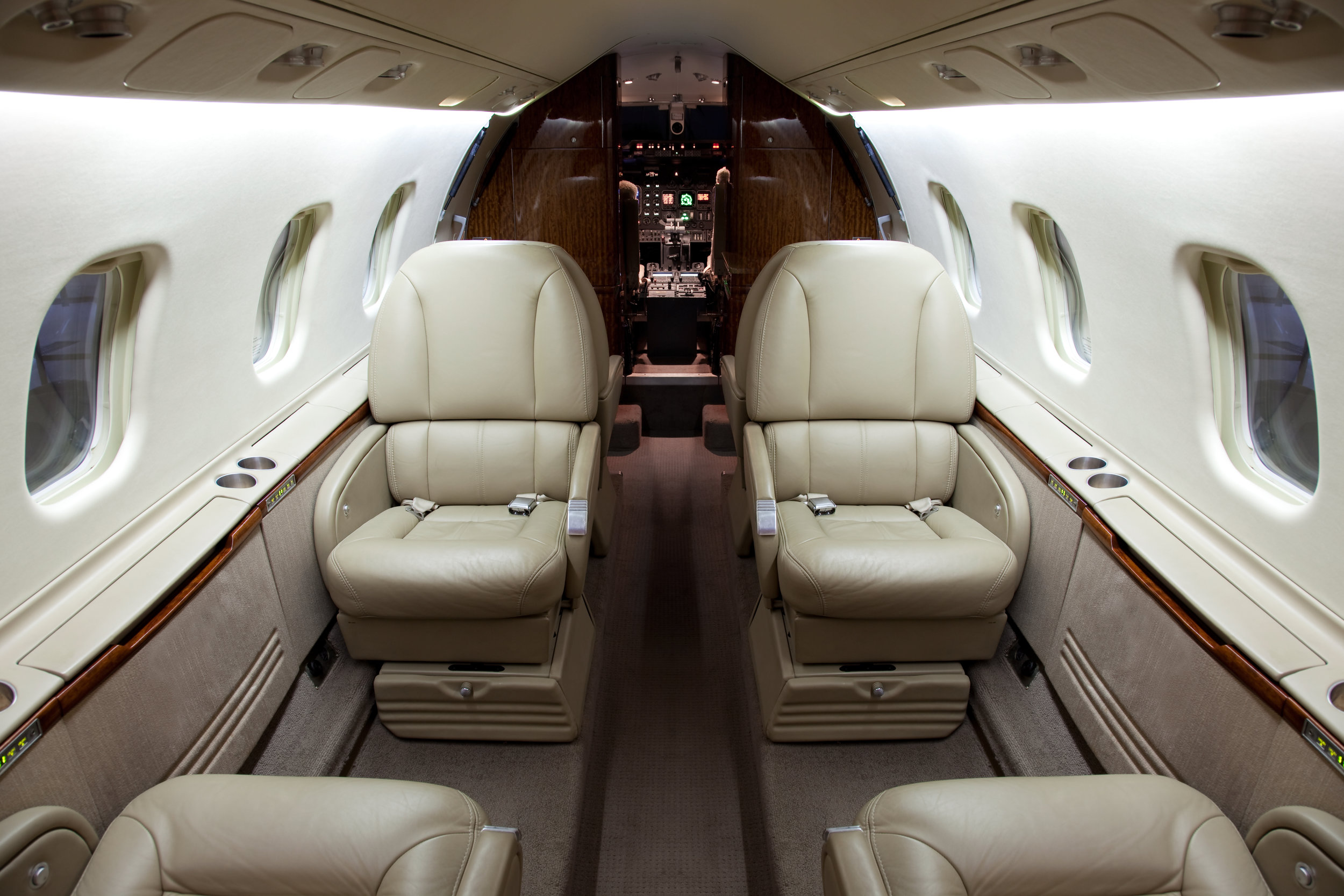 Corporate Jet Modifications - Our work on corporate jet interior modifications includes:- Cabin configuration changes- In-flight entertainment system installations- Avionics upgrades- Mobile phone installations- Audio system upgrades- Galley and toilet installations- Storage cabinets- Passenger tray tables- Interior trim upgrades