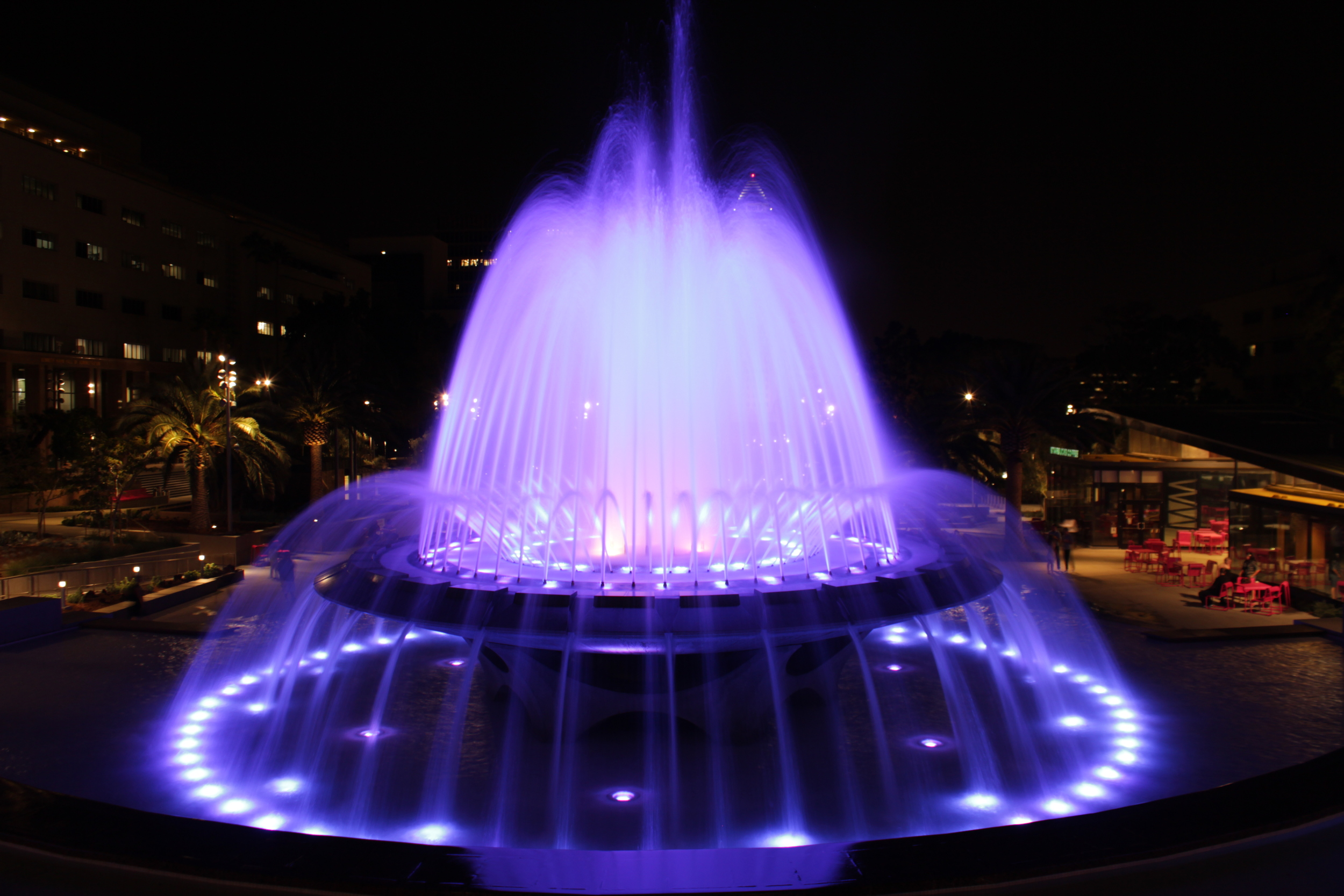 Los Angeles Fountain