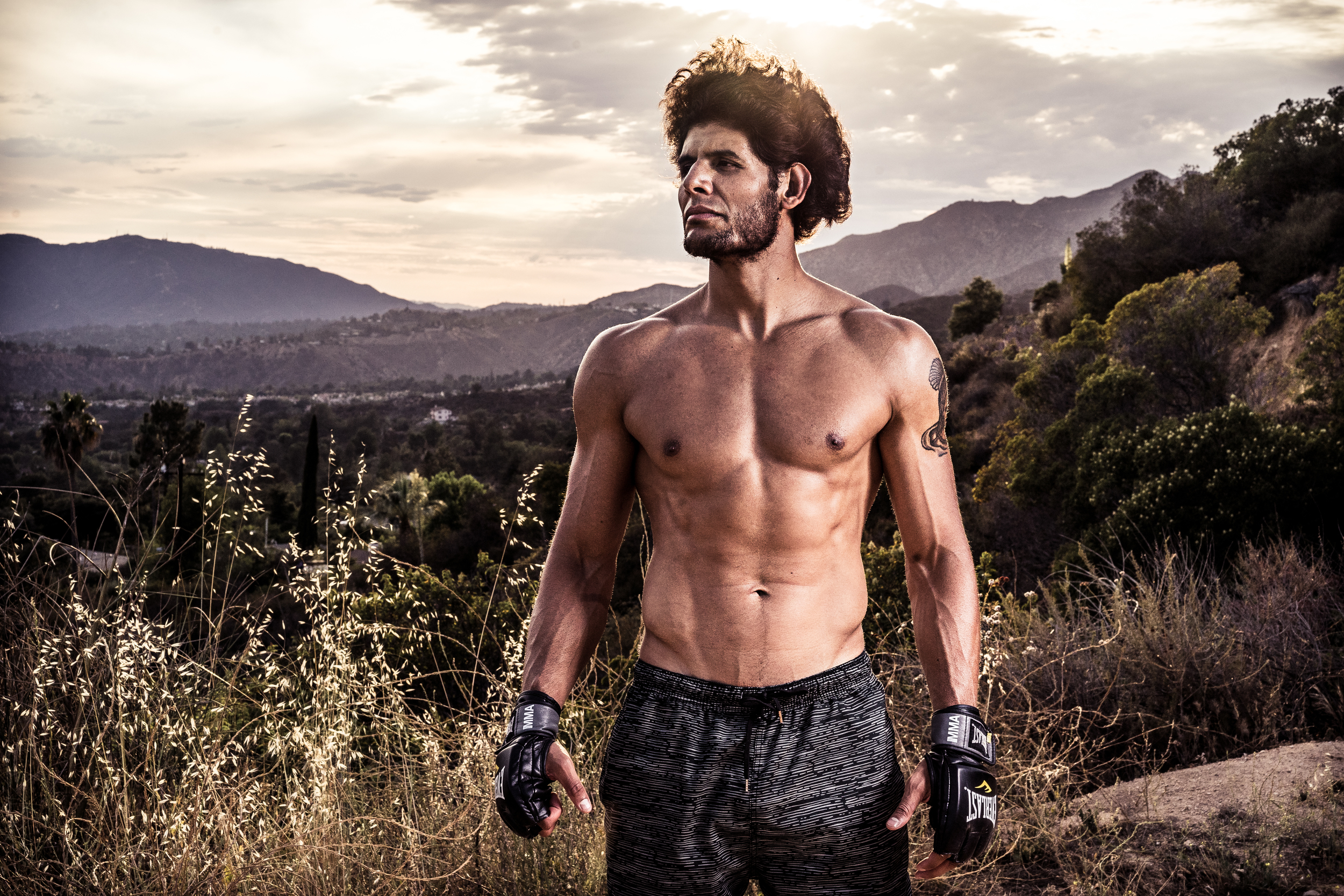 MMA Fighter Anthony Hernandez