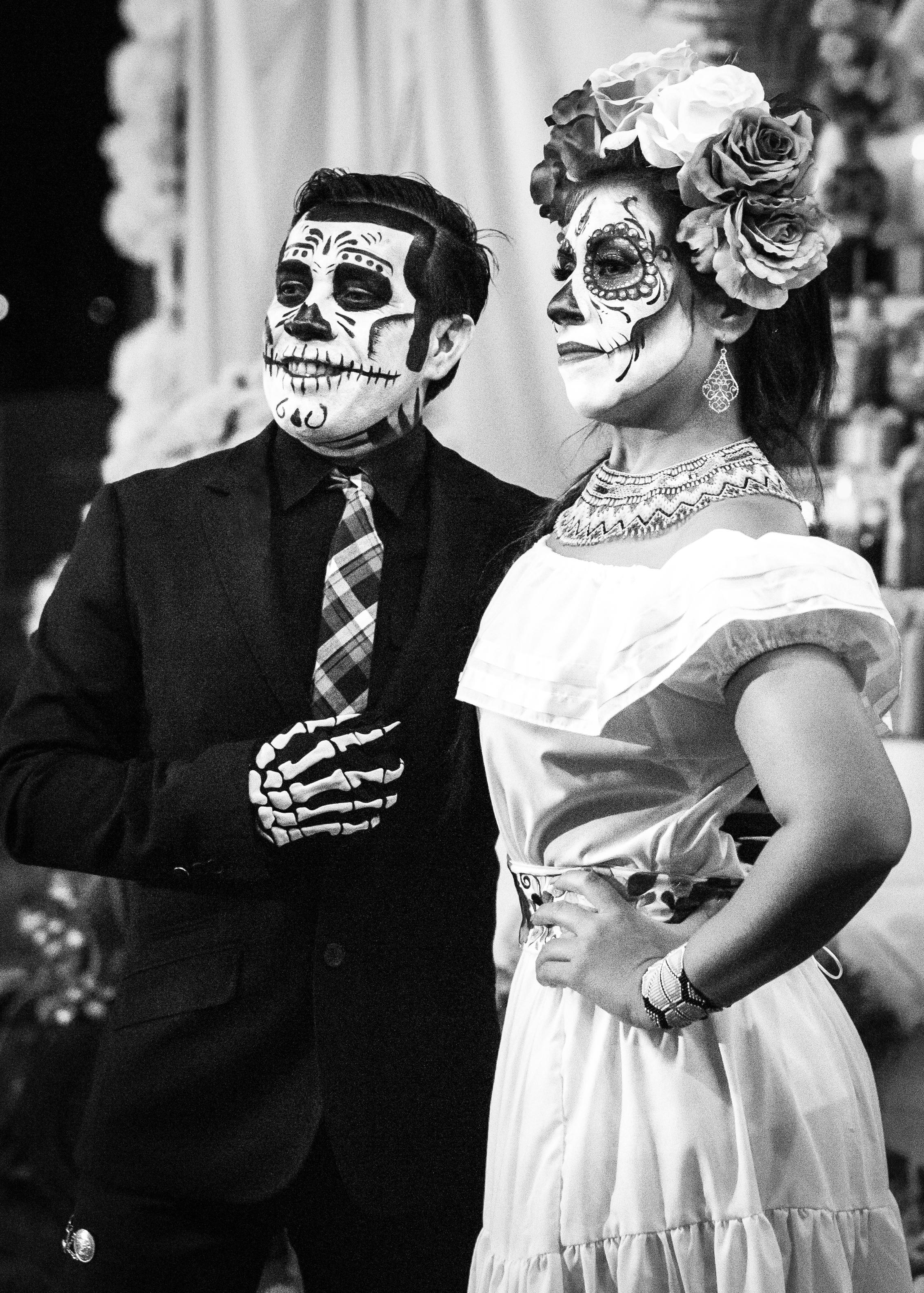 Dia De Los Muertos Couple