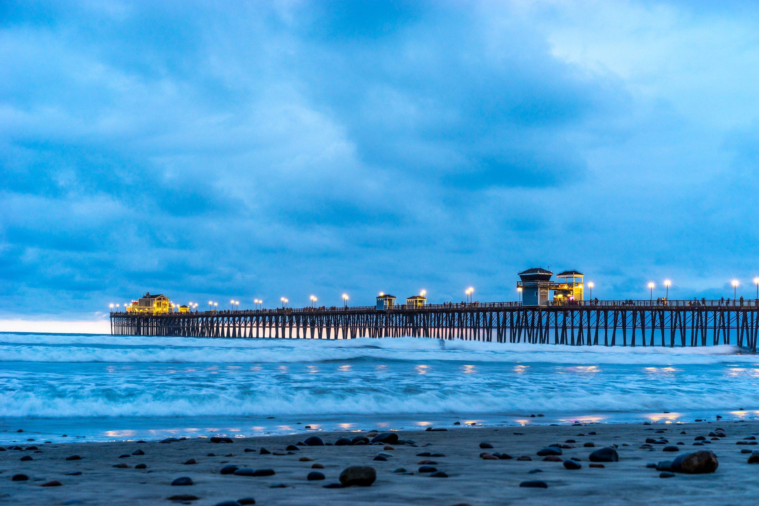 California Sunset Blue