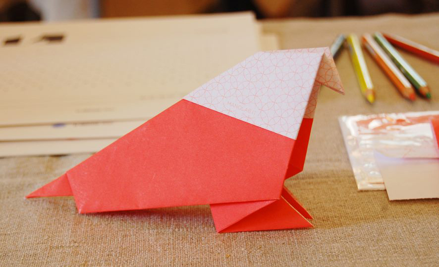 Origami Animals  lab with Papè