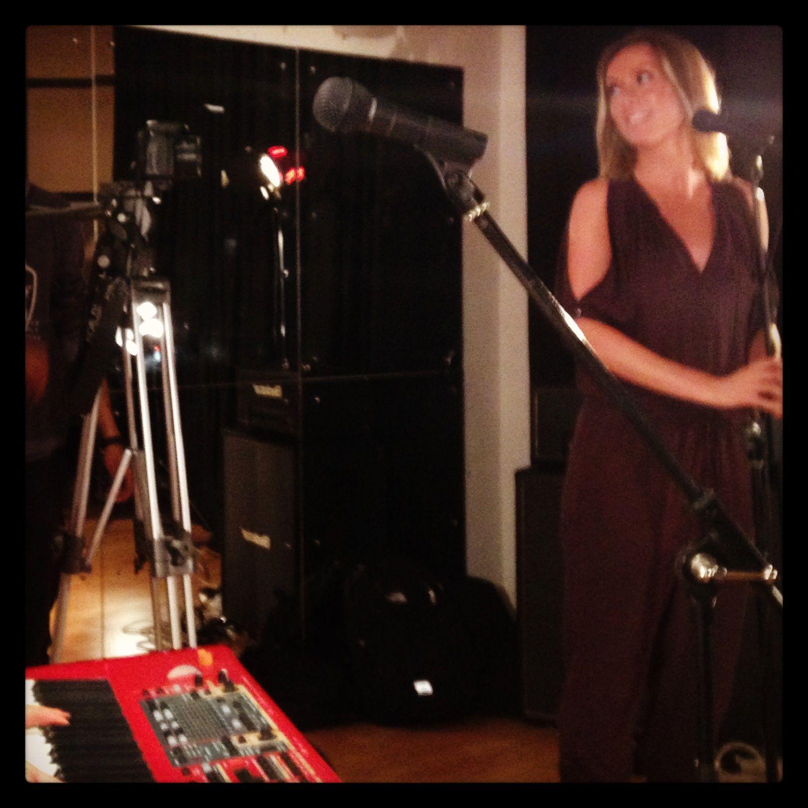 Lovely Miranda on vocals for Bombshell