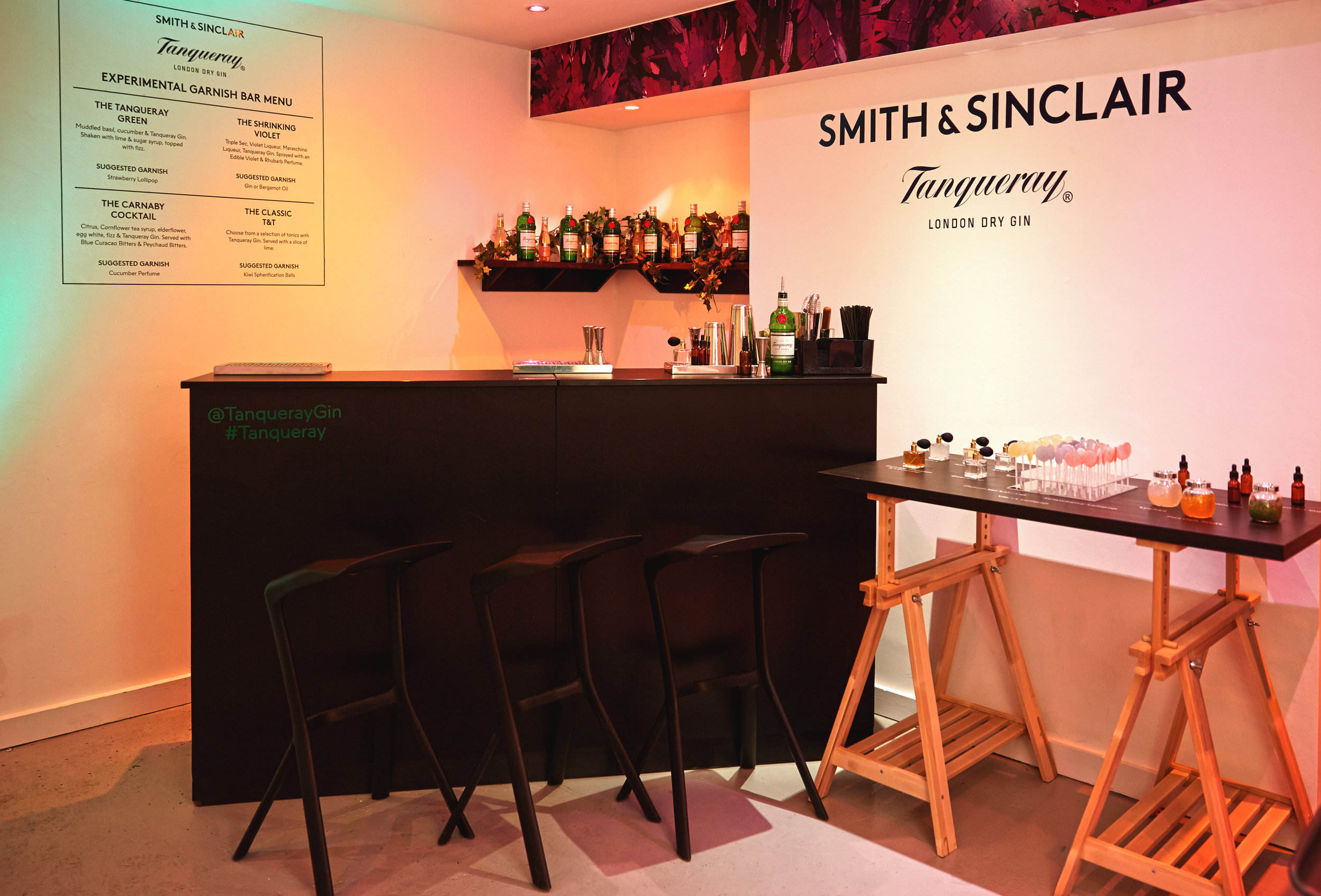 Smith & Sinclair - The Flavour Rooms, Carnaby