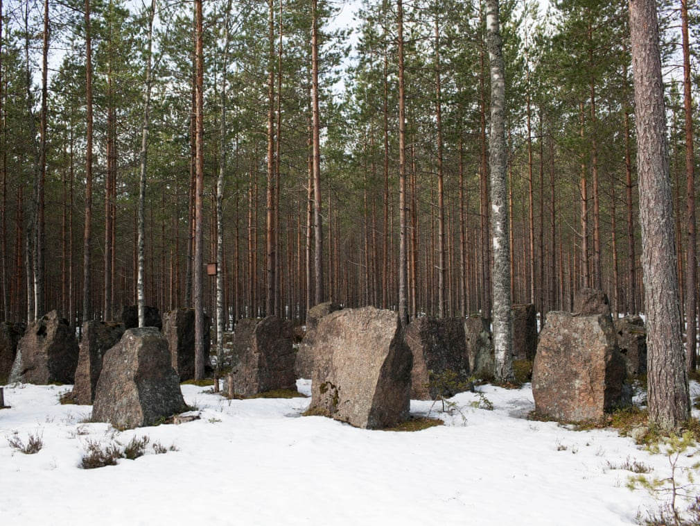 The Salpa Line, Finland, 2017  Close to Virolahti, the Salpa Line is a fortified defence line built in 1940-41 to protect Finland from the entry of armoured tanks from Russia. It is 225km long and made of 350,000 stones   Photograph: Rocco Rorandelli/TerraProject