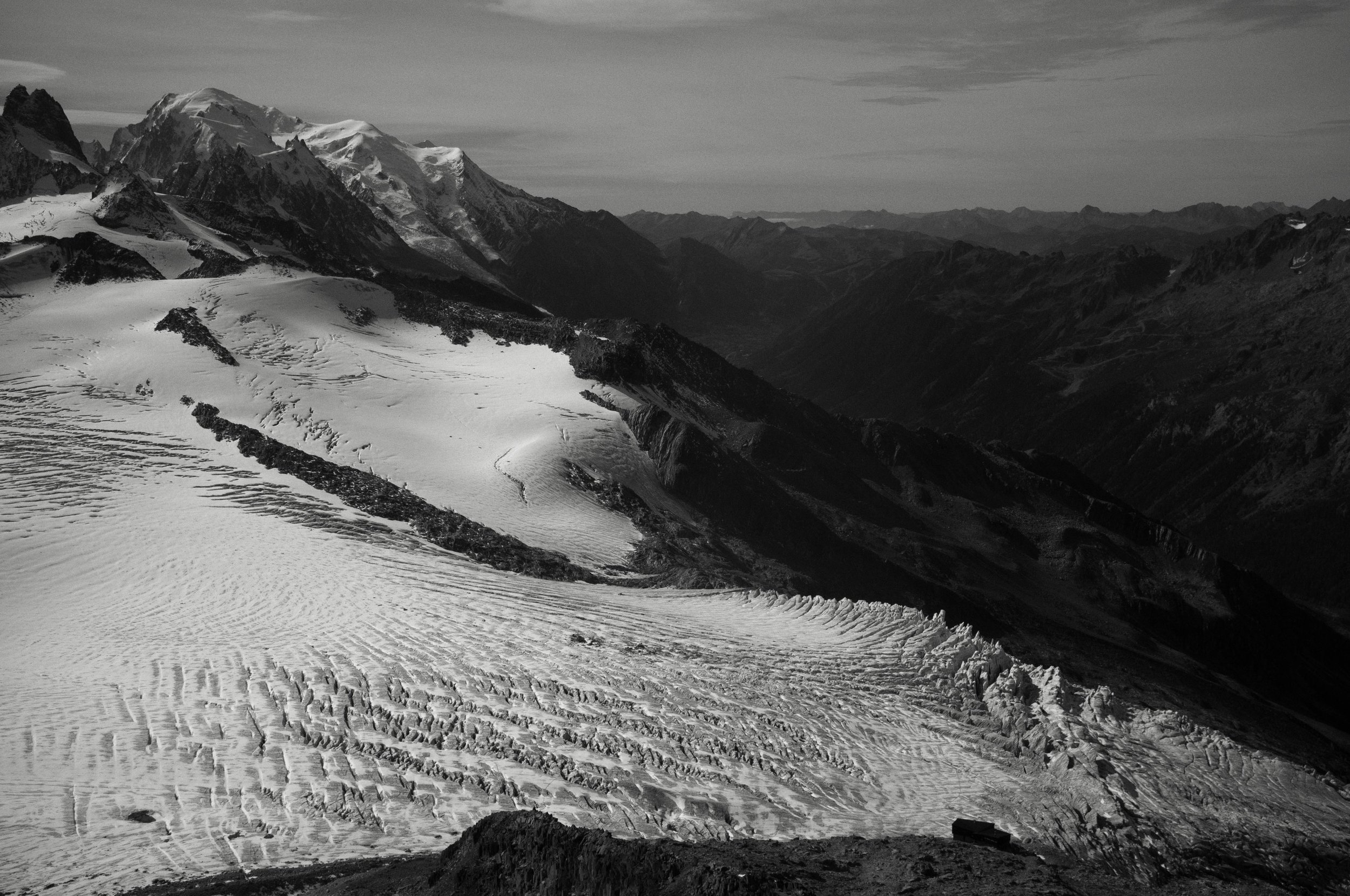 Glacier du tour, Northern Alps, France, 2017
