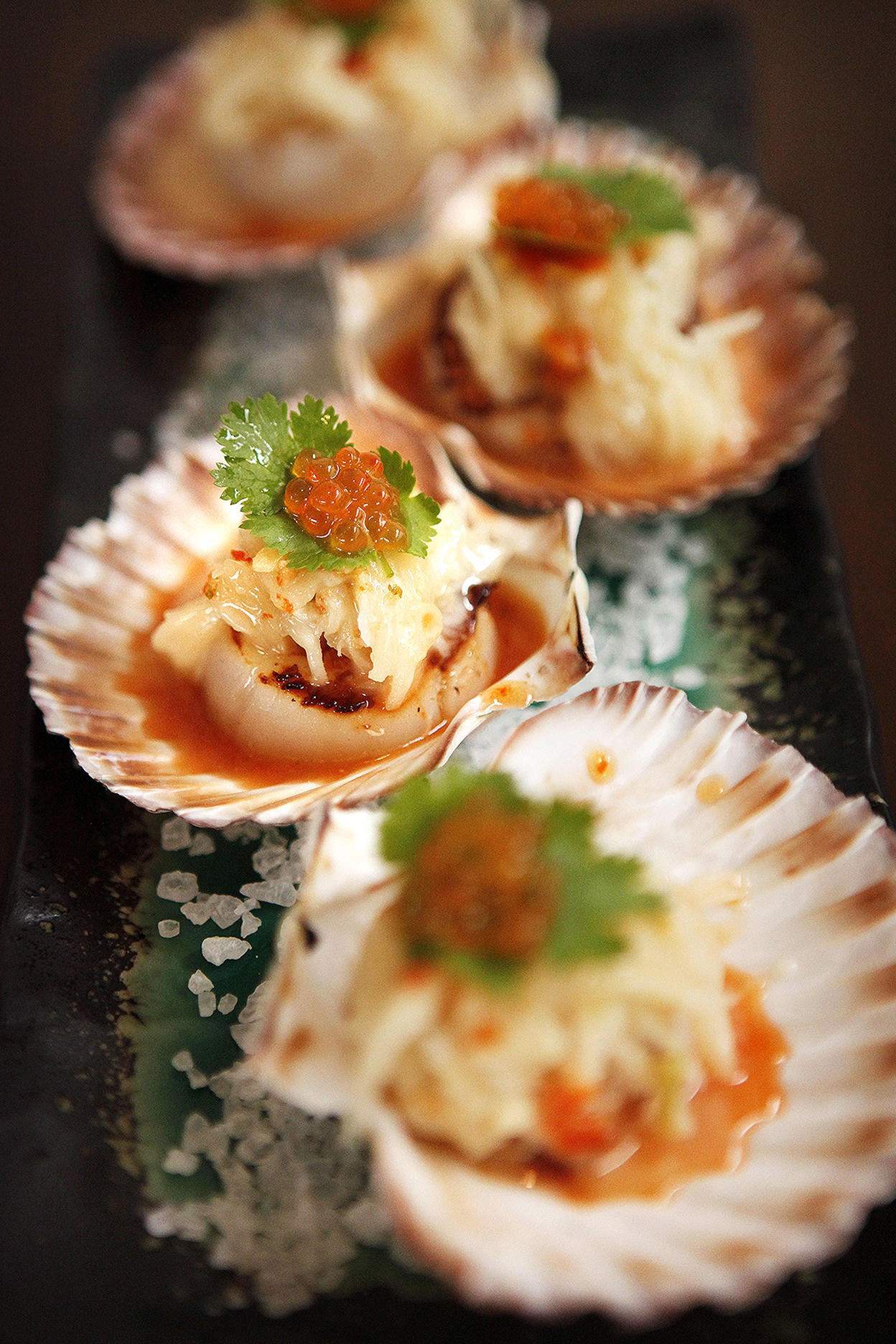 CHP_Export_119016760_82 Thai Cafe 82 on Grange Rd Grange [PIC] Grilled scallops with coconut sambal.jpg