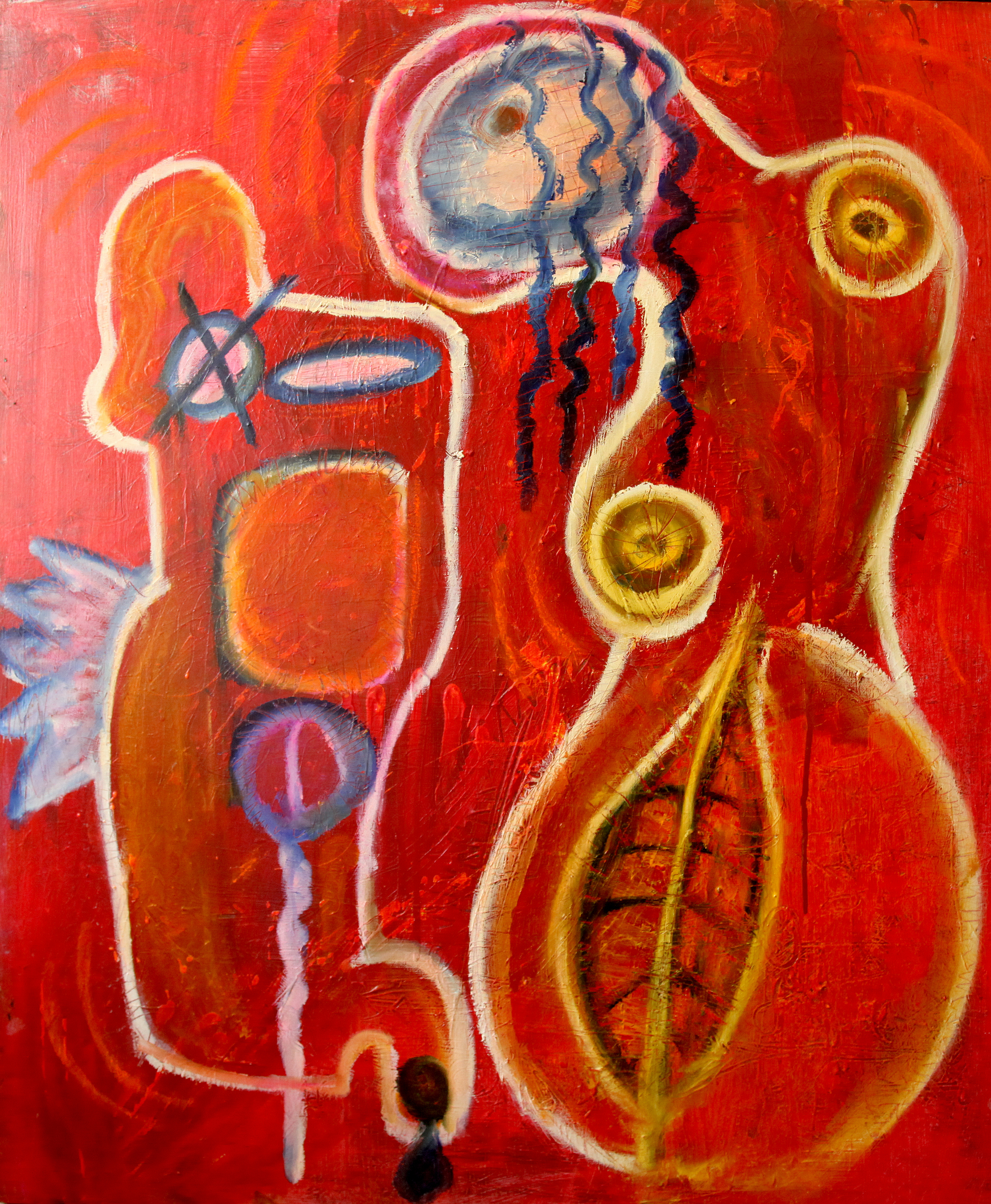 Relationships  120 x 90 Oil on canvas 2013