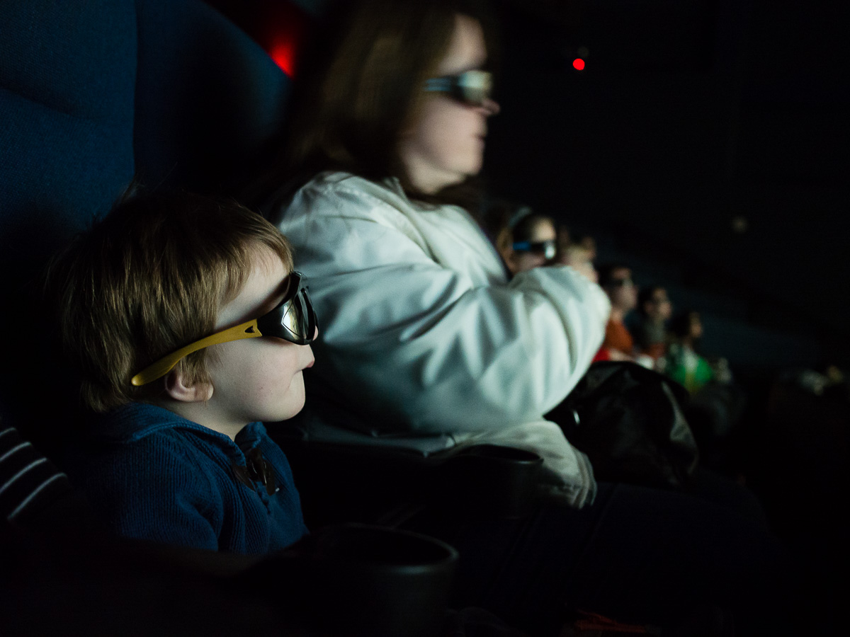 3200 ISO, 1/10s at f/2 in an IMax Theater
