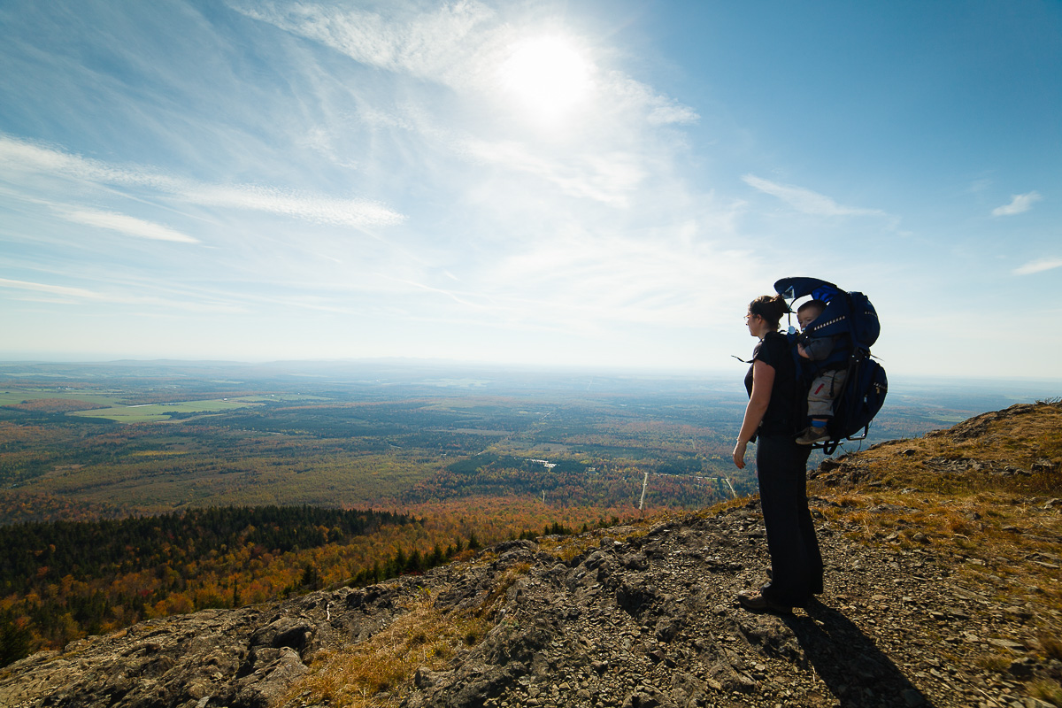 Family Hiking - Ultra Wide Angle