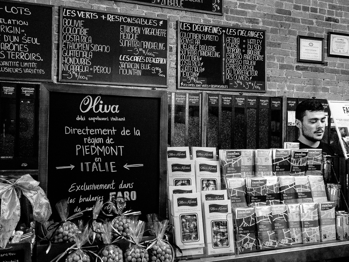 Brûlerie de Café de Sherbrooke. One of my favorite place in town :)