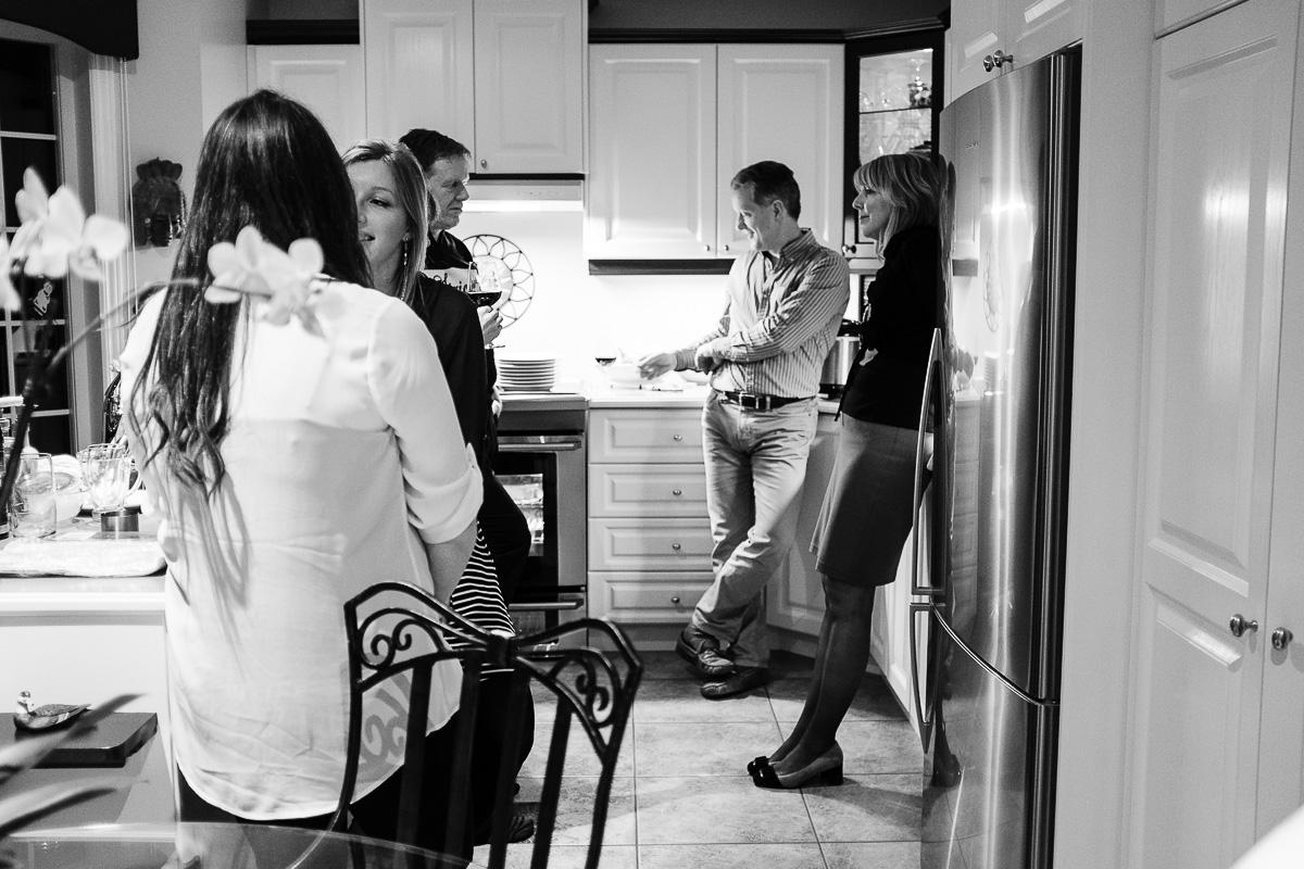 Ils font semblant de préparer le souper ;)