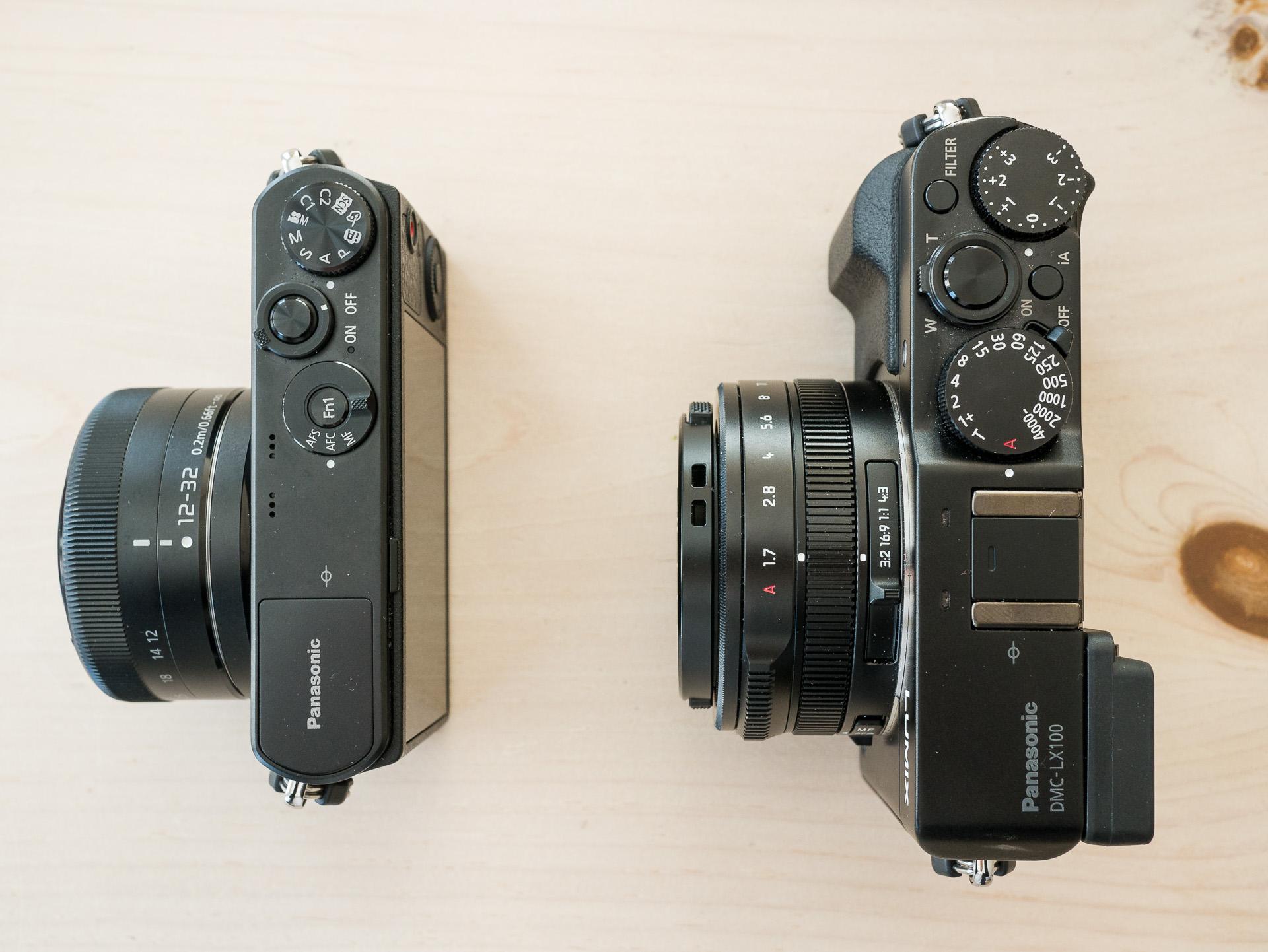 GM1 vs LX100.
