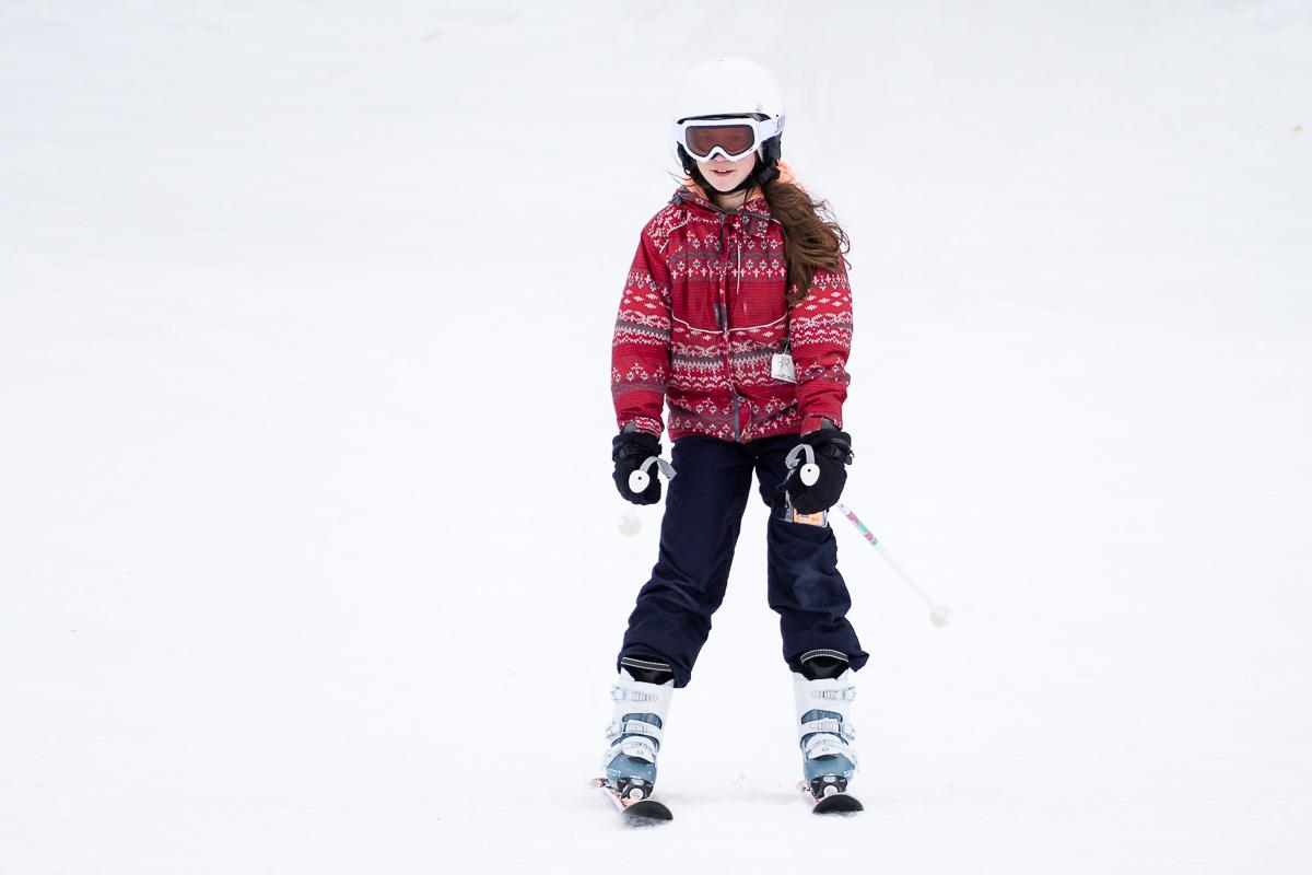 Happy skiing