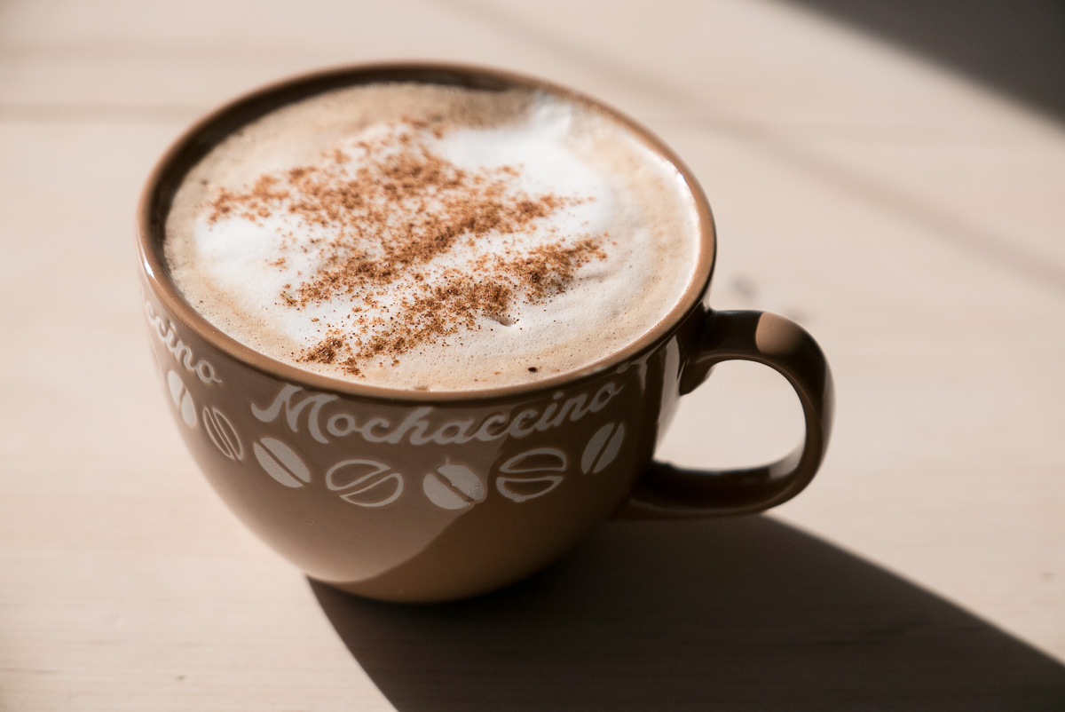 The day started with a Mochaccino...