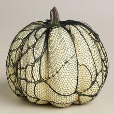 Fishnets! Slutty pumpkin.