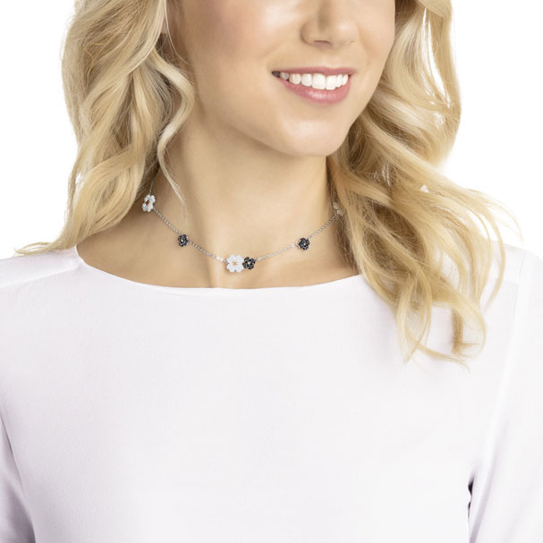 Latisha choker by Swarovski — dress up or down, also adjustable.