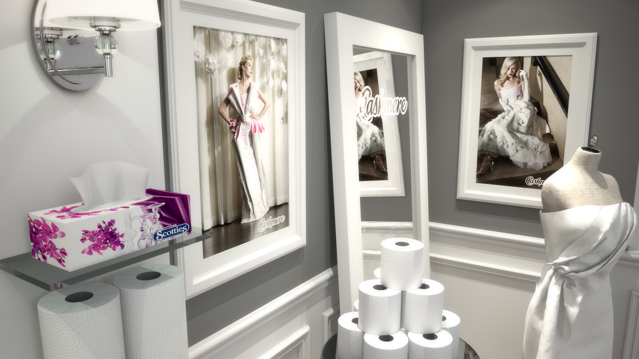 View 7 of Kruger's exhibition booth design for their trade shows
