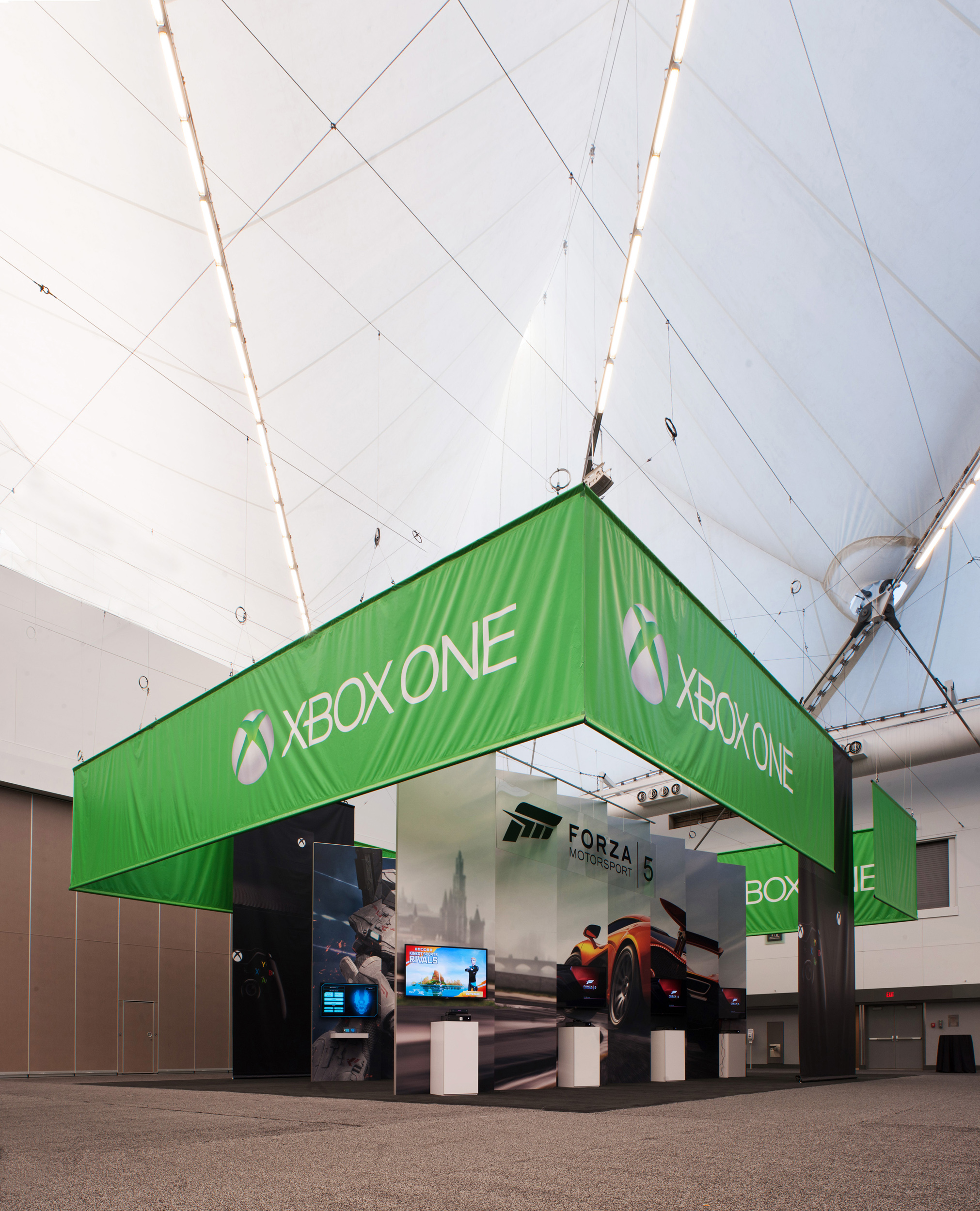 One of many exhibition displays designed for the XBox team for the EB Games trade show in Vancouver