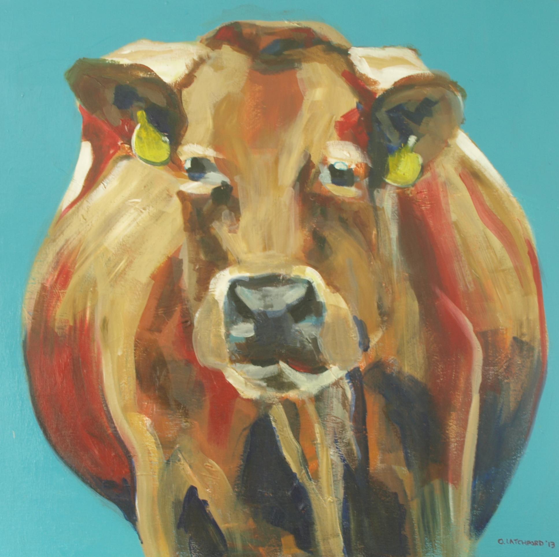 How Now. Acrylic on Canvas, 70cm x 70cm, 2013