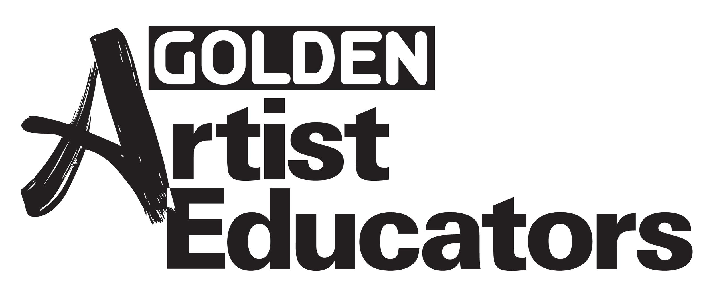 Golden Artist Educators Logo_blk