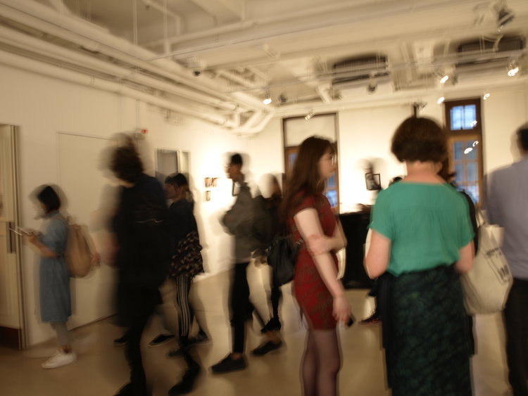 Exhibition opening, Anita Chang Lai-Ling Gallery, Hong Kong, 2018