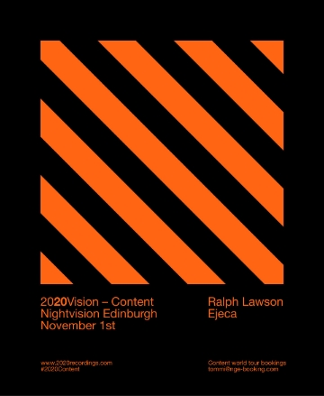 Halloween special for Nightvision Edinburgh on November 1st with Ejecam, Derek Martin and Laurie Neil- http://bit.ly/1D93iDN
