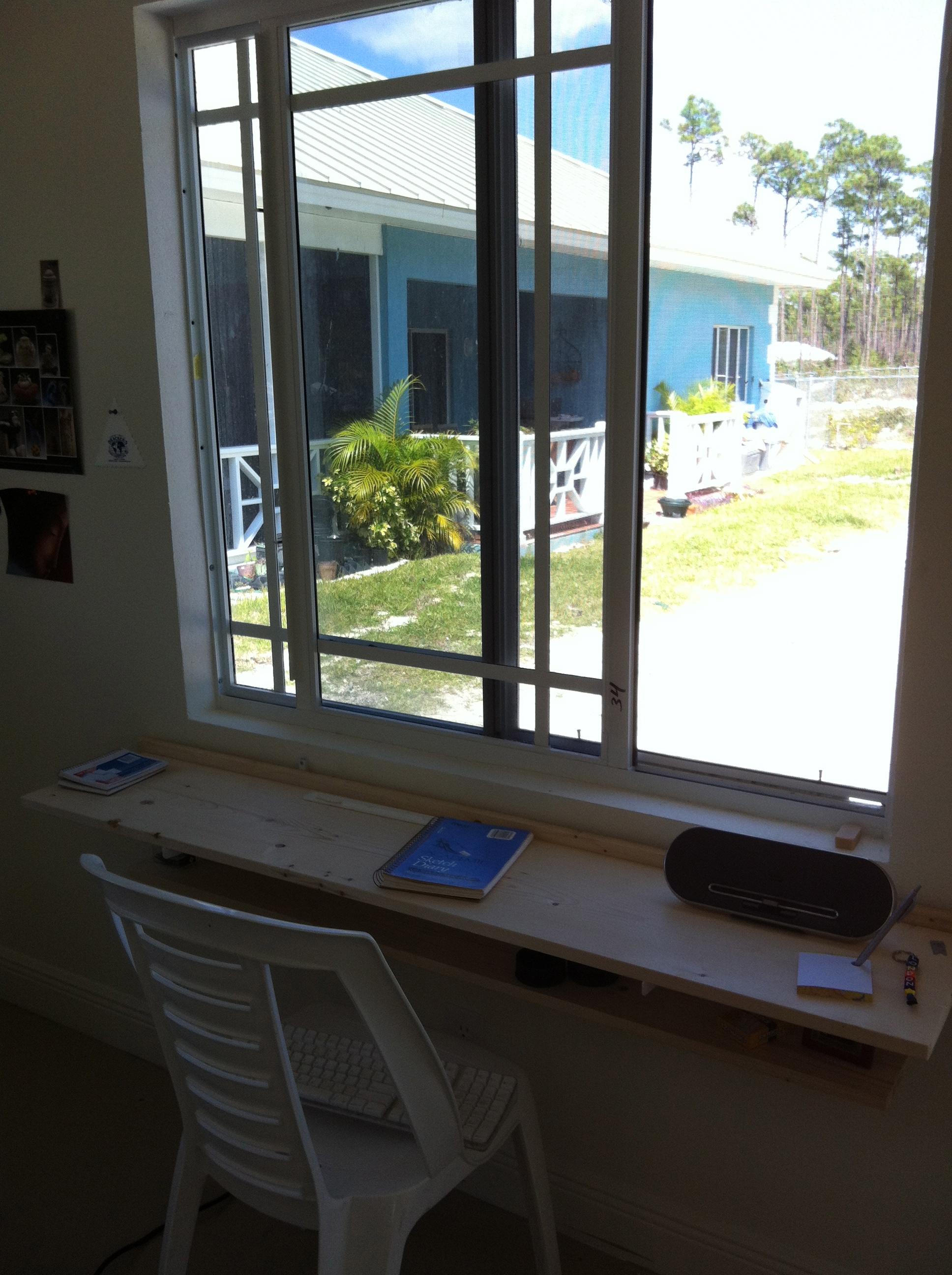 Tiny desk.  Big ideas.
