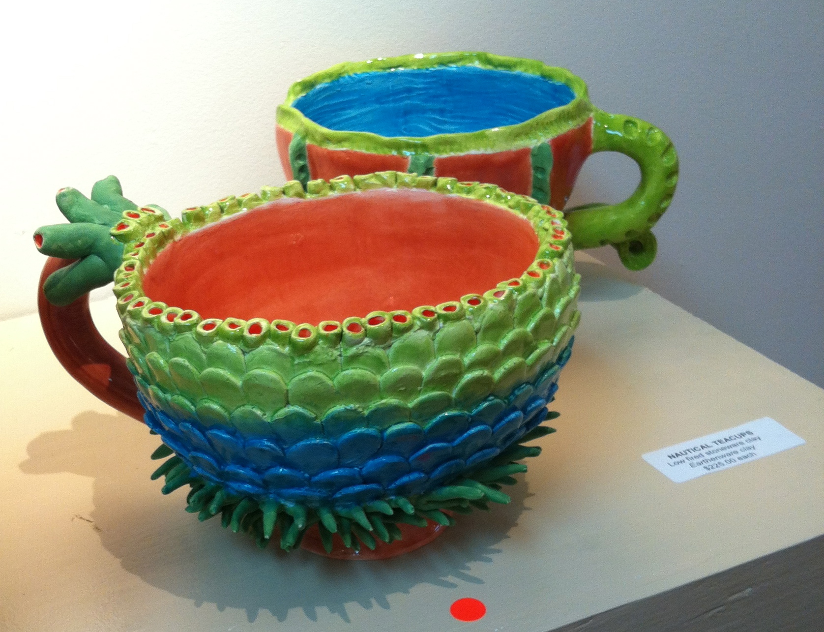 """Nautical Teacups"" Jessica Colebrooke"