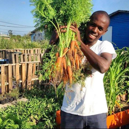 "Luckner Timothee is a full time farmer and Gaia warrior who stumbled into farming 5 years ago after ""not knowing a thing about growing anything.""     Since then, he has educated himself in various ways, especially through trial and error and is constantly refining his growing methods. His passion and purpose is about preserving the soil through the right garden practices."