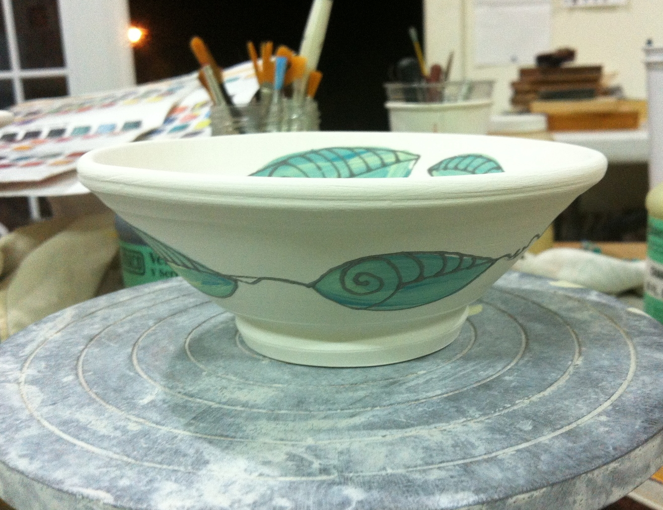 Like people, I believe bowls should be beautiful inside AND out!