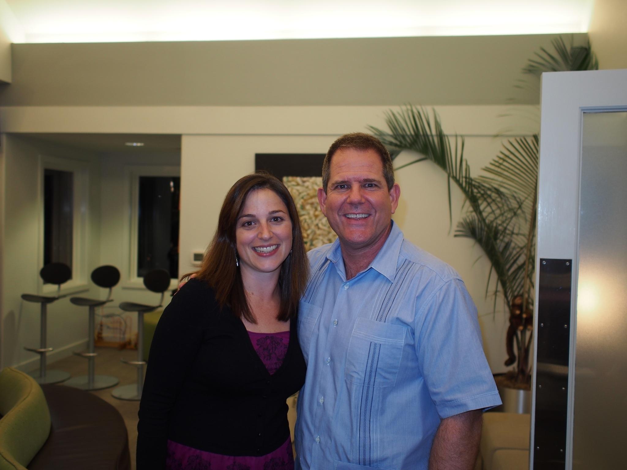 TOSC Executive Secretary Marta Masferrer and TOSC President, Dr. David Hime