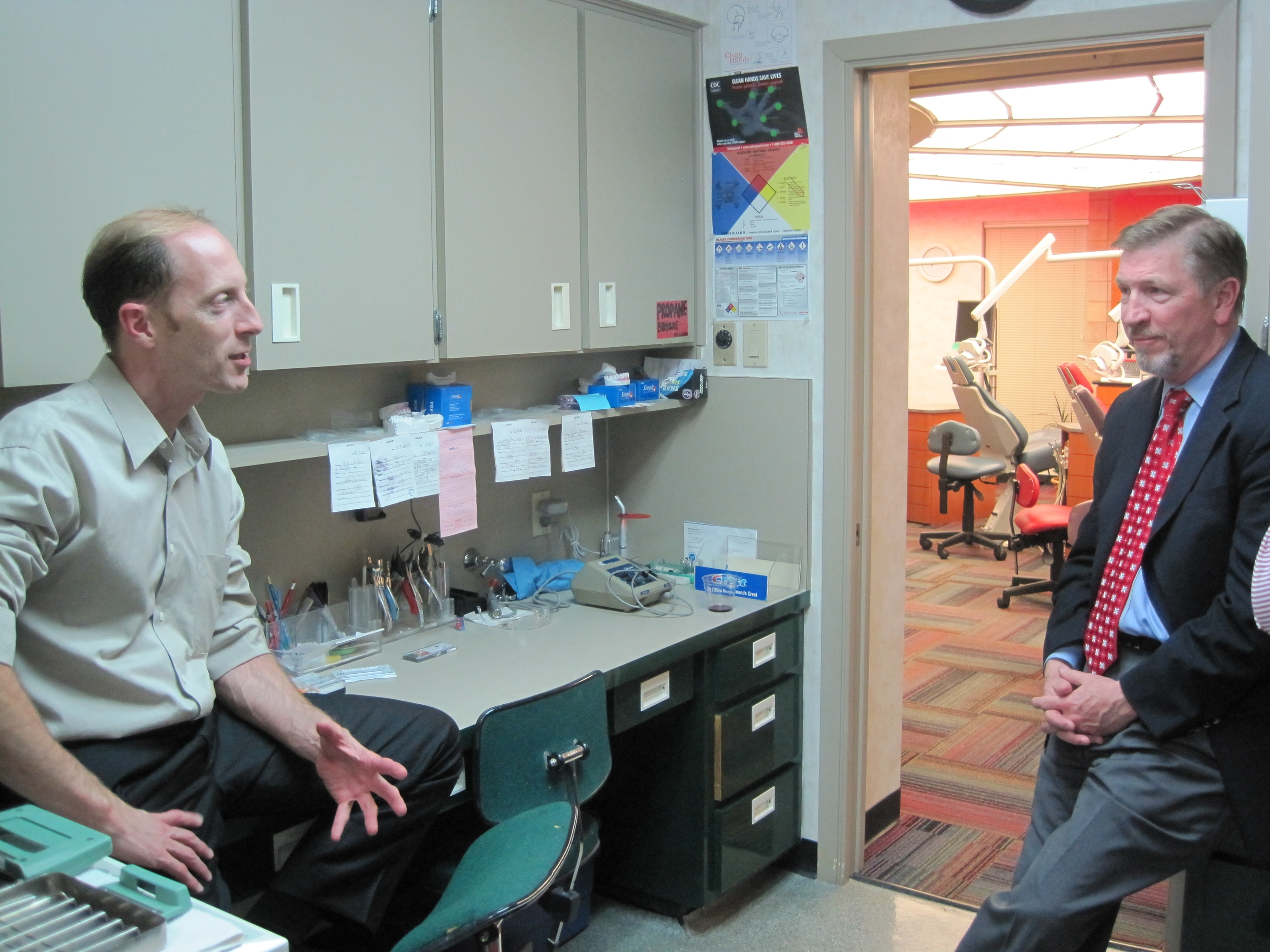 Drs. Doug Jensen and Larry Tadlock