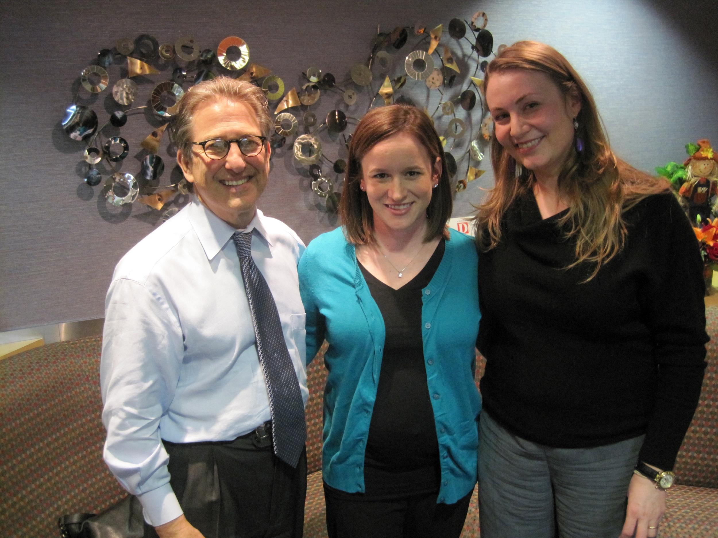 Drs. Mark Geller, Lauren Davis, and Elena Iacob
