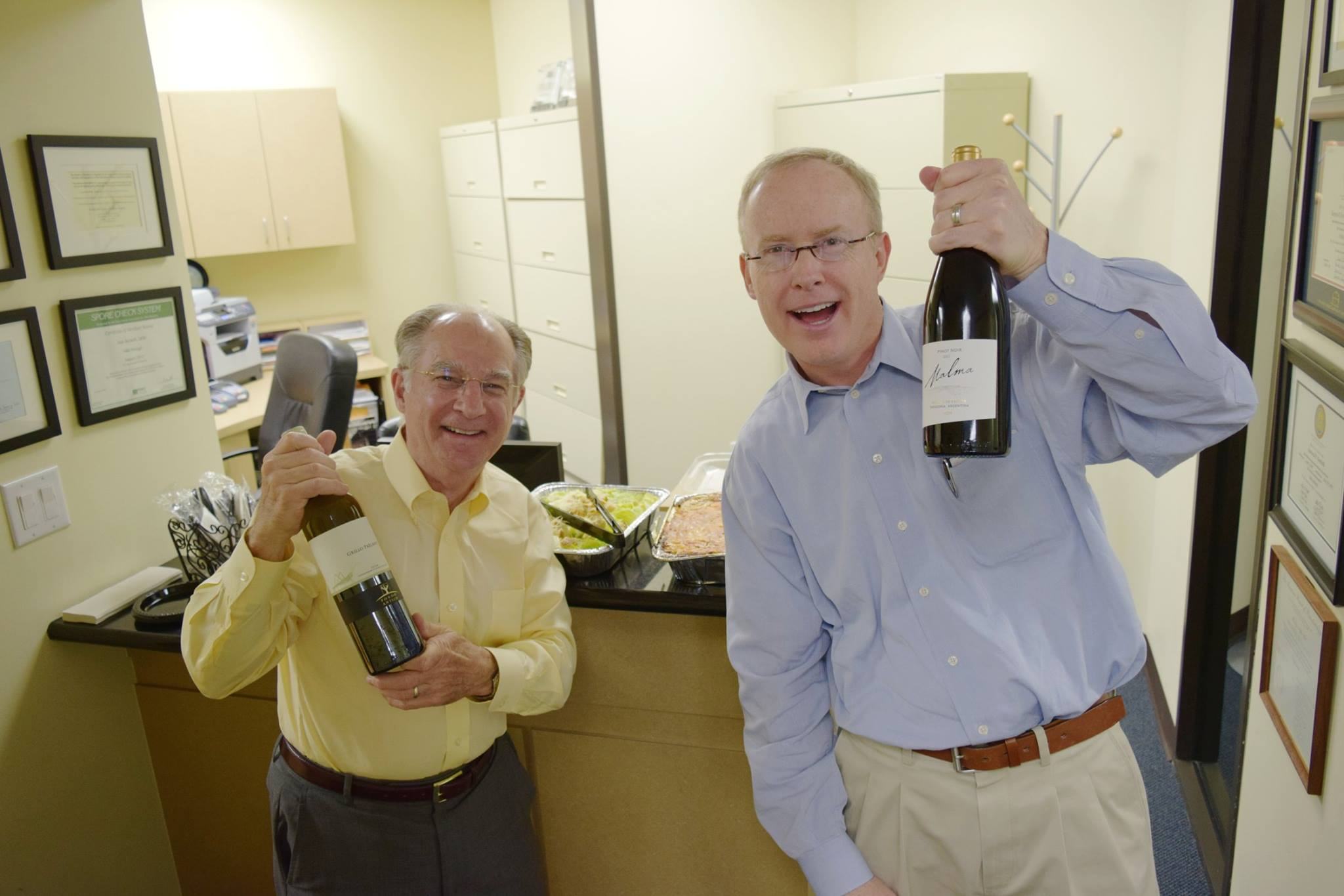 Drs. Ron Gallerano and Marc Magness