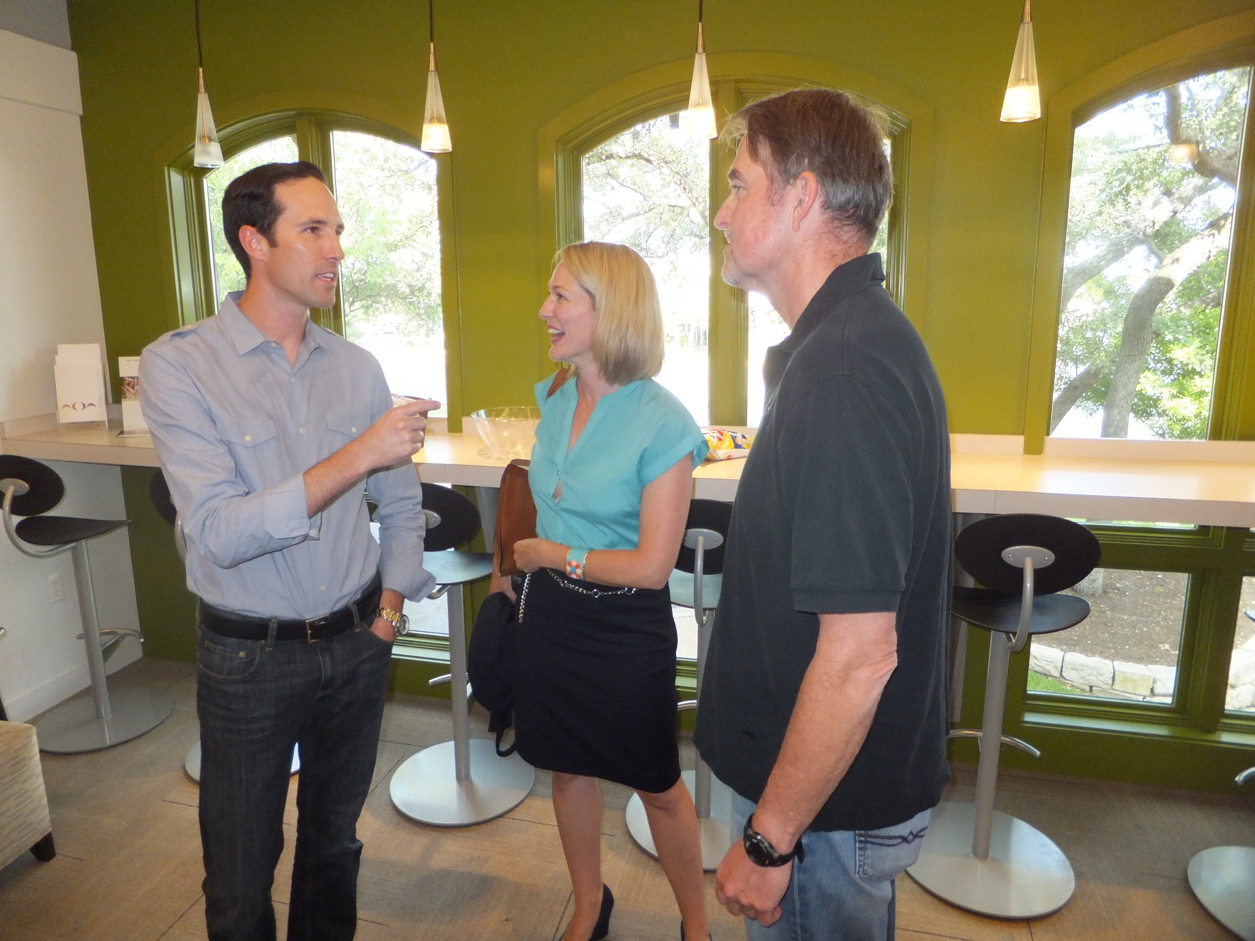 Drs. Seth Briggs, Erin Arnold, Stephen Robirds