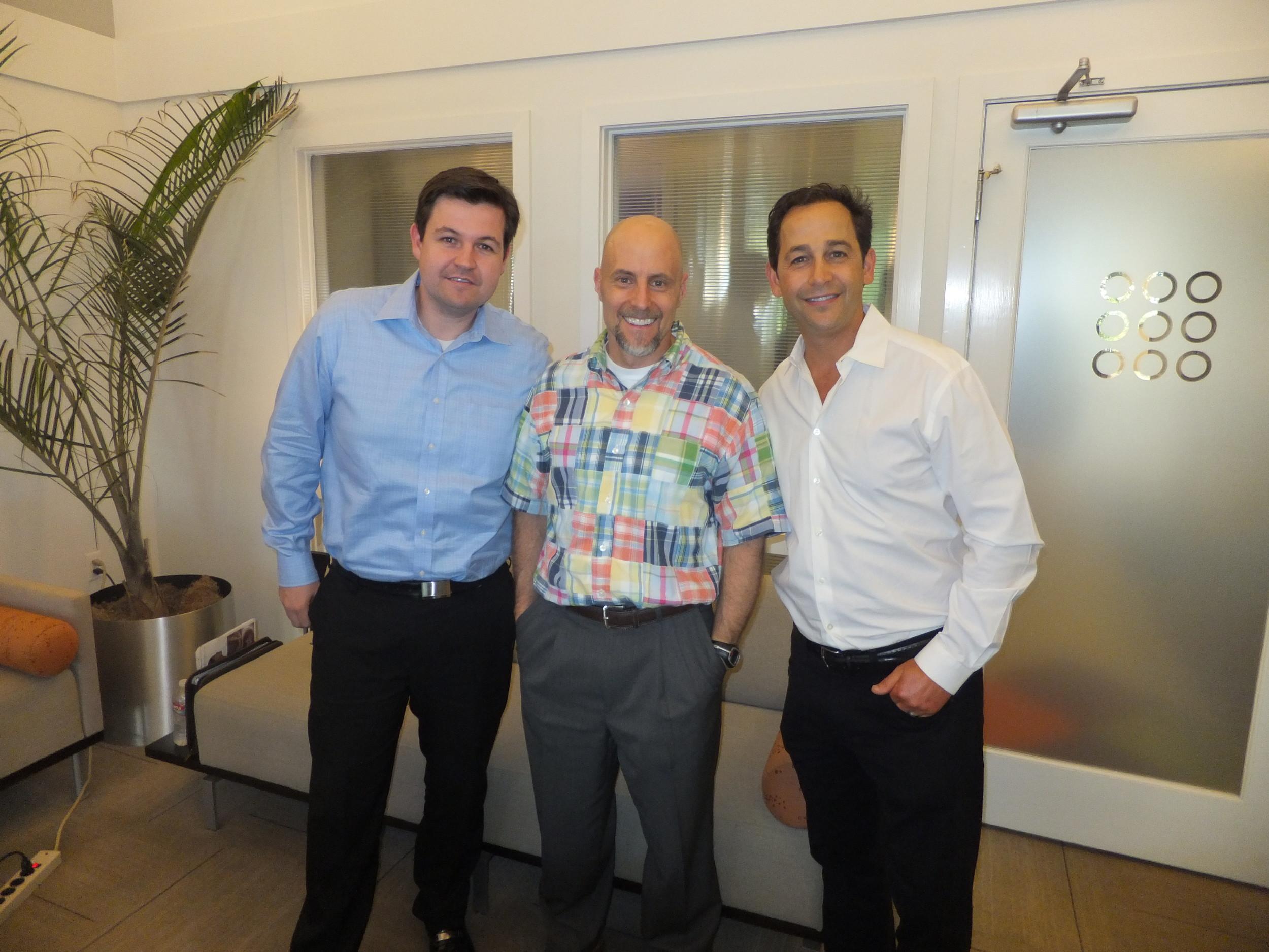 Drs. Timothy Brunson, Nick Salome, and Randy Kunik