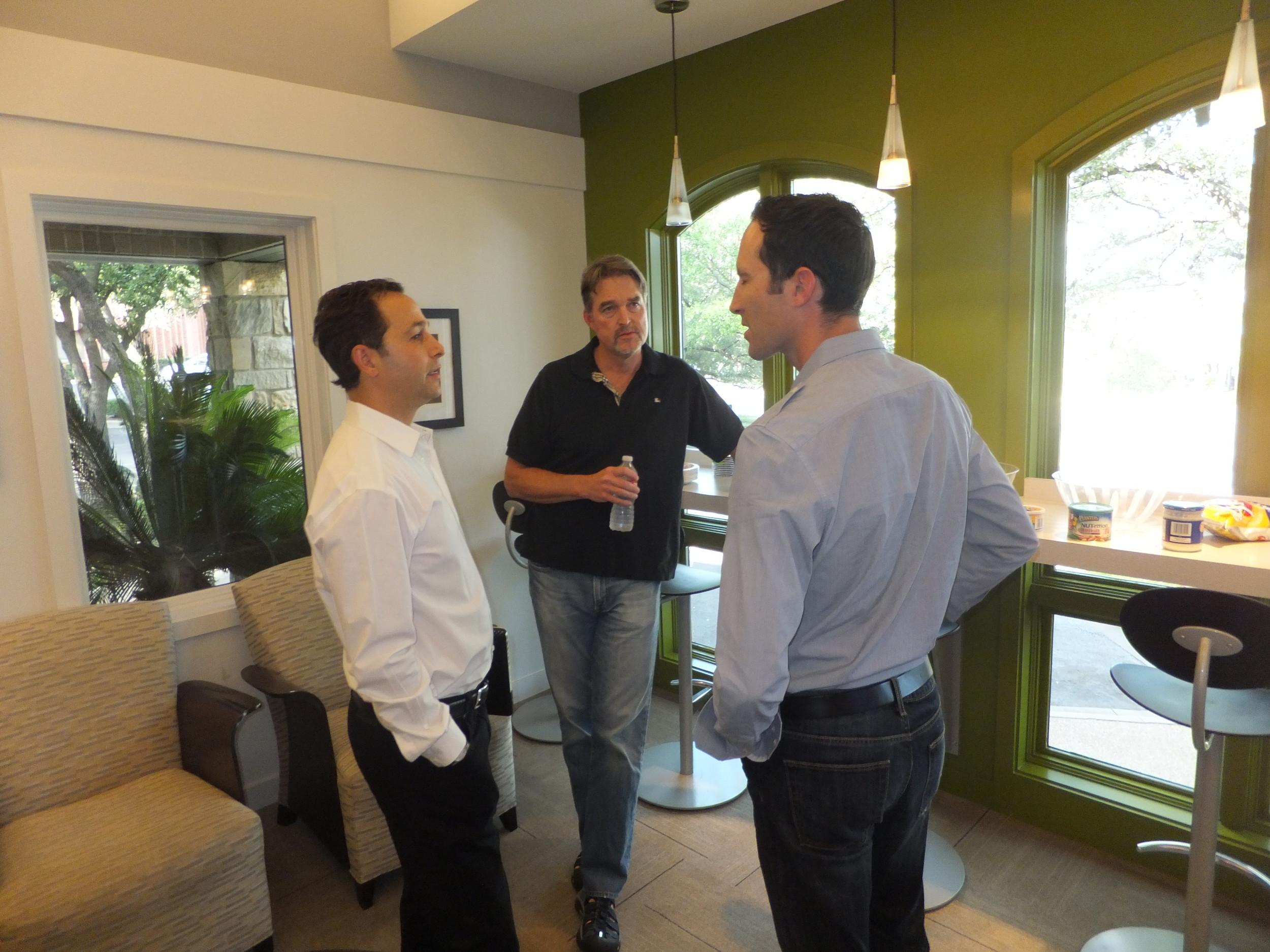 Drs. Randy Kunik, Stephen Robirds and Seth Briggs