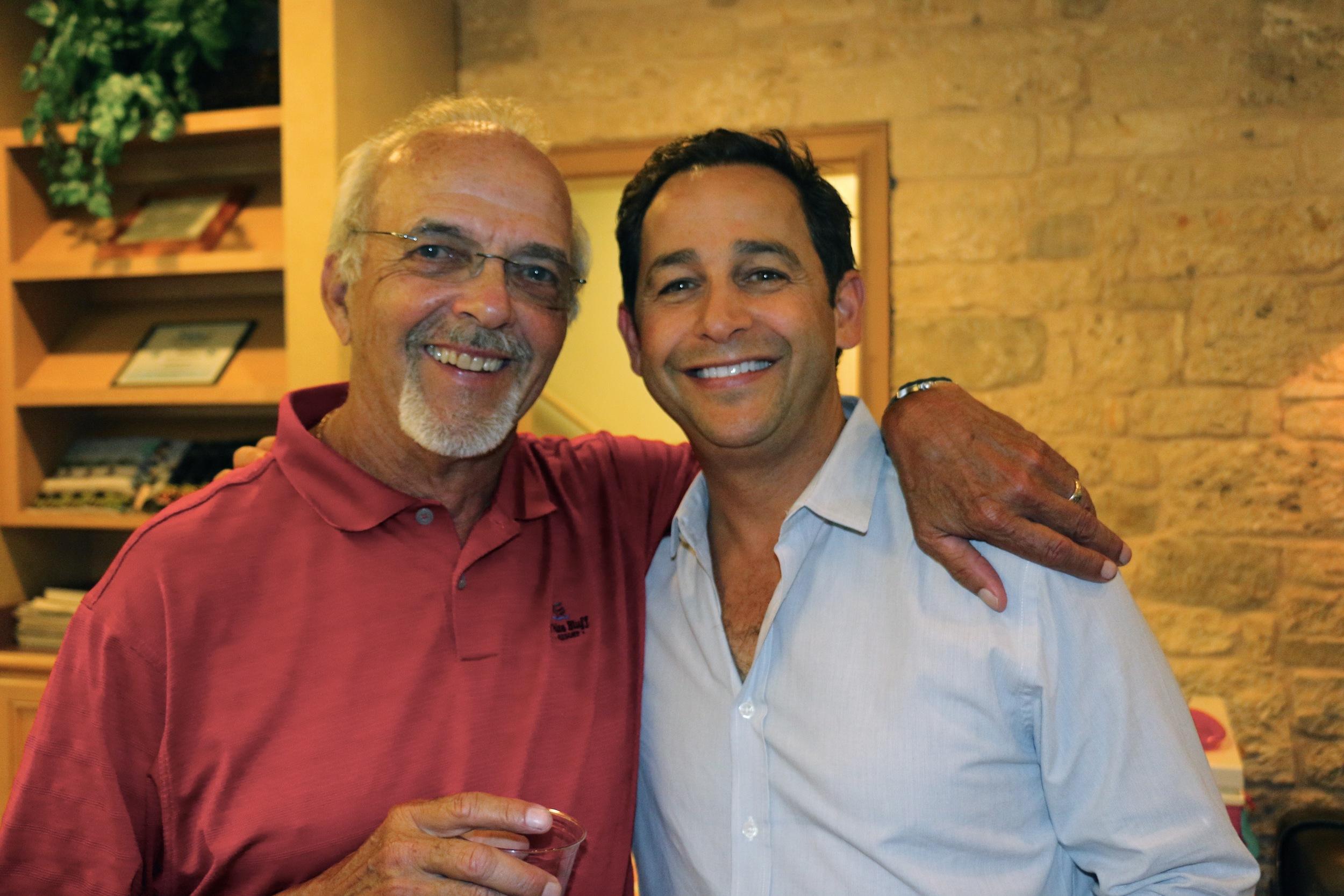Drs. David Alger and Randy Kunik