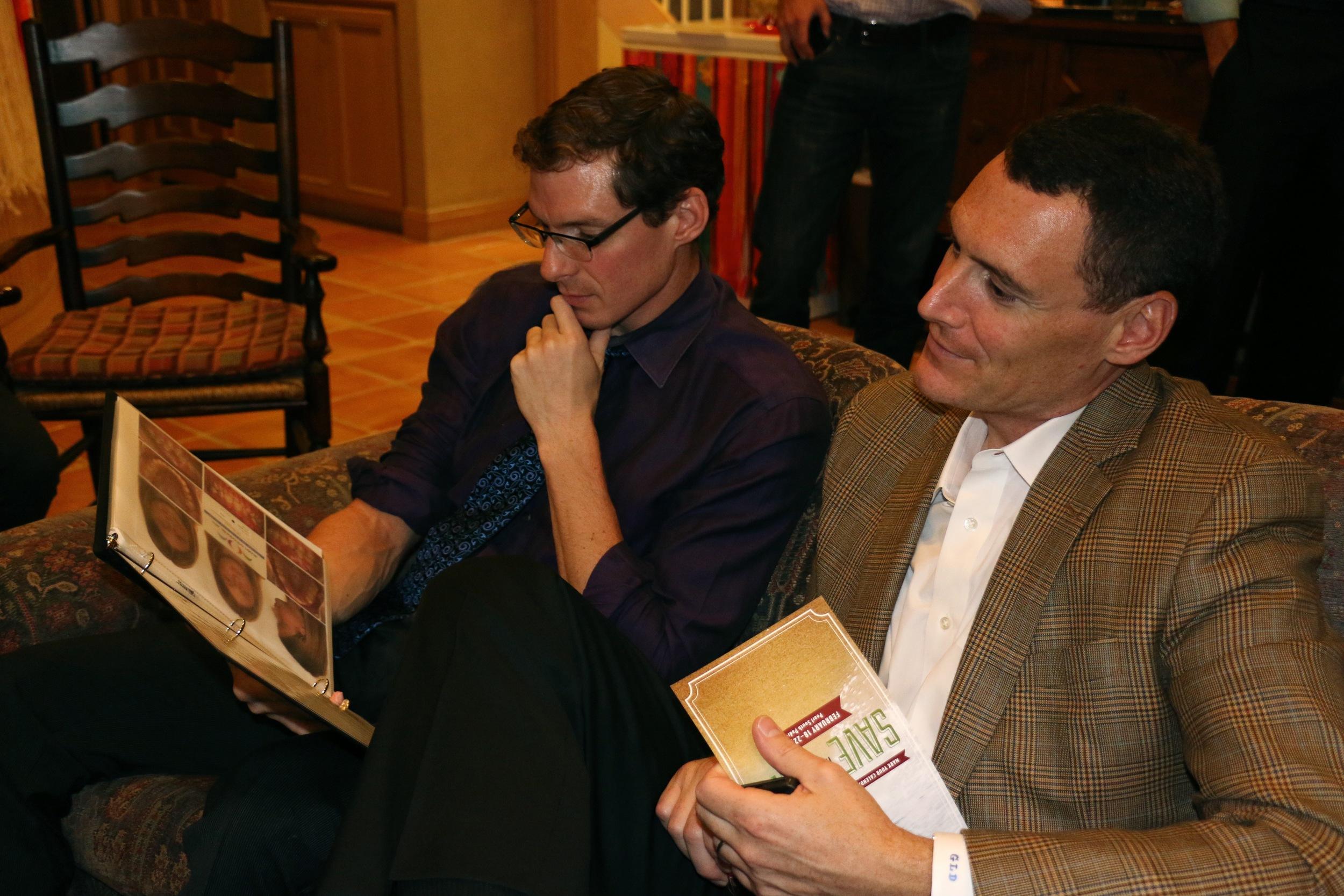 Drs. Jeff Dykes and Gerard DeSantis