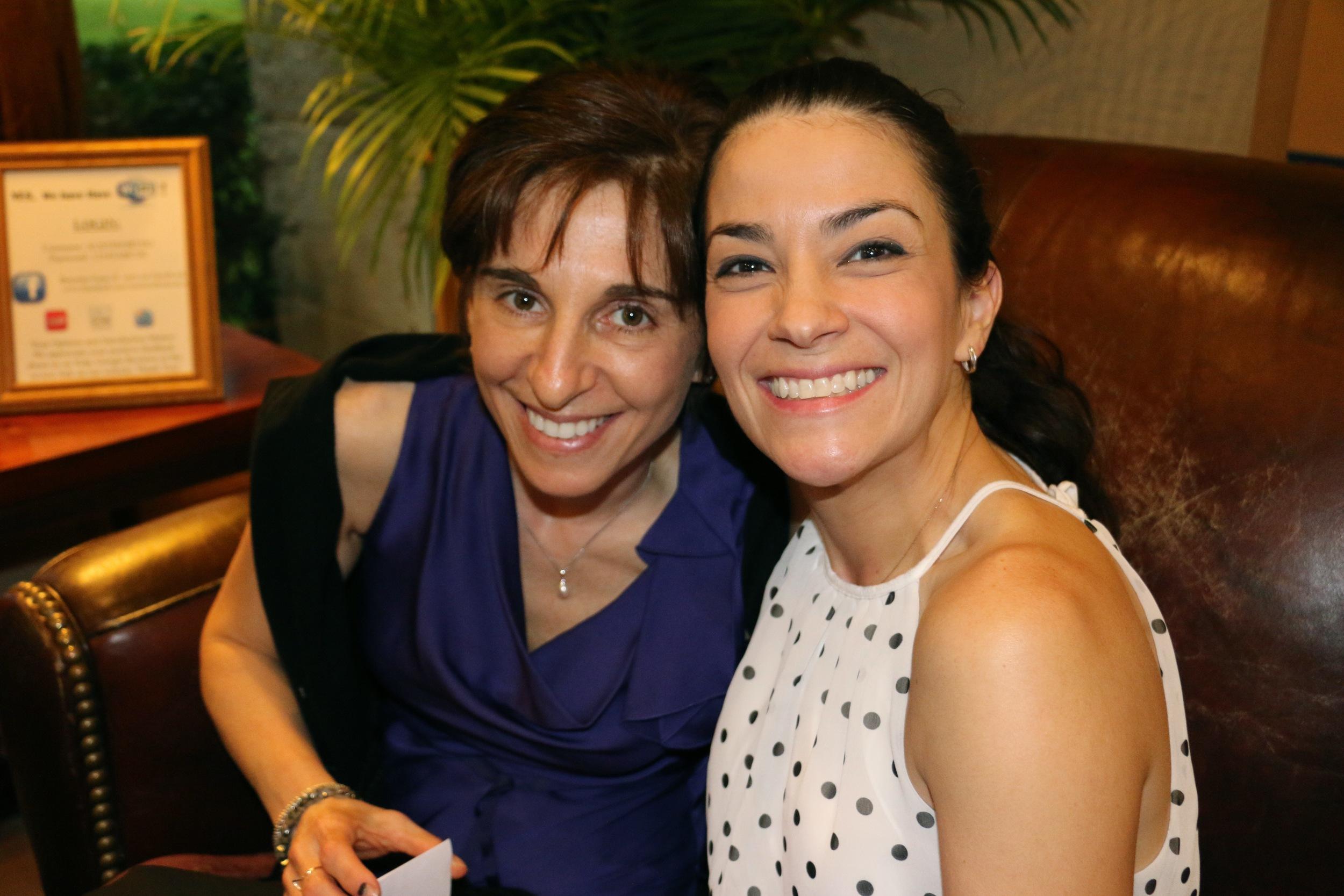Drs. Monica Goldenberg and Silvana Gonzalez