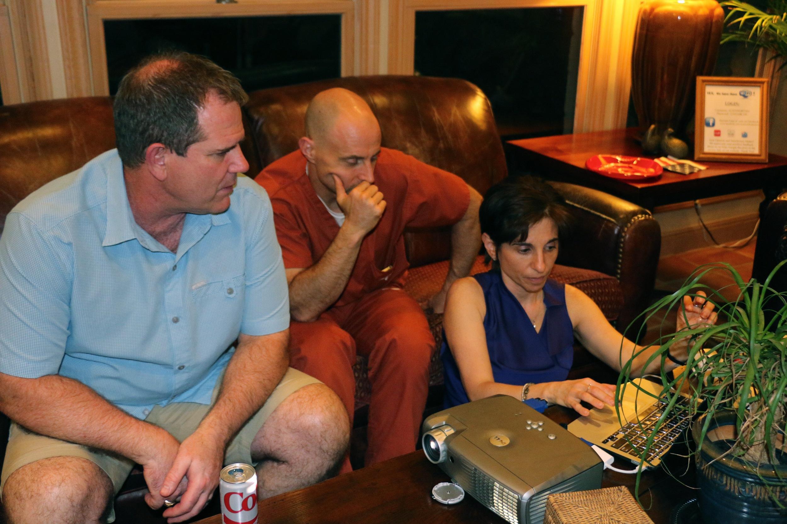 Drs. David Hime, Nick Salome and Monica Goldenberg