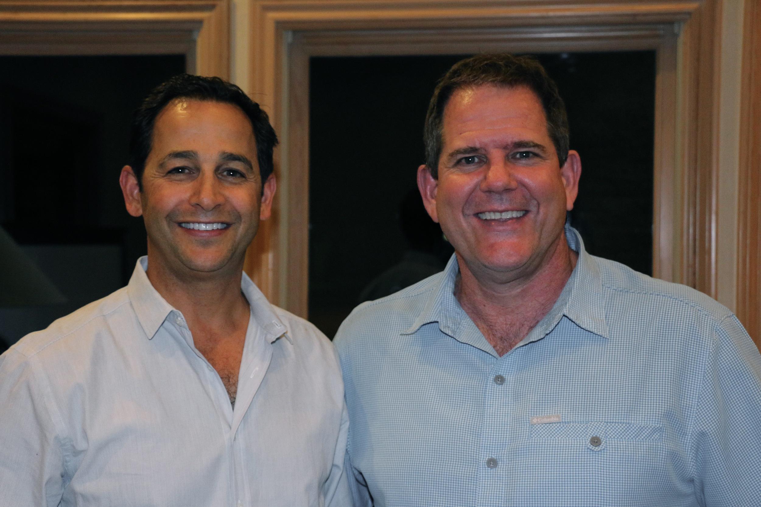 Drs. Randy Kunik and David Hime