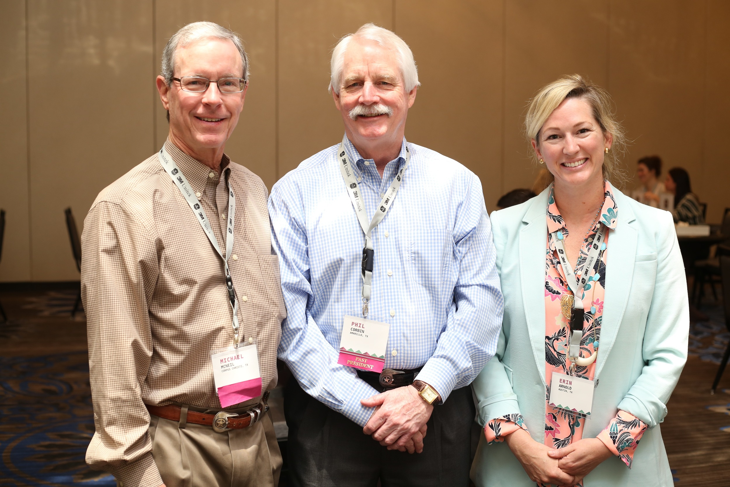 Drs. Mike McNeil, Phil Corbin and Erin Arnold
