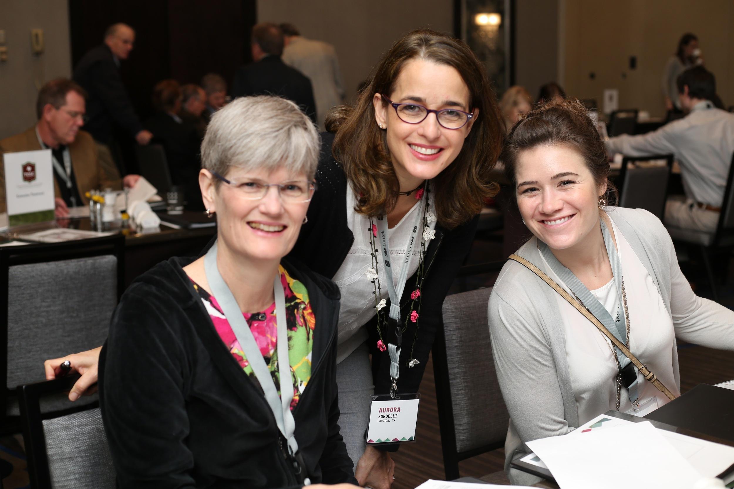 Drs. Lisa King, Aurora Sordelli, and Rachel Hardinger