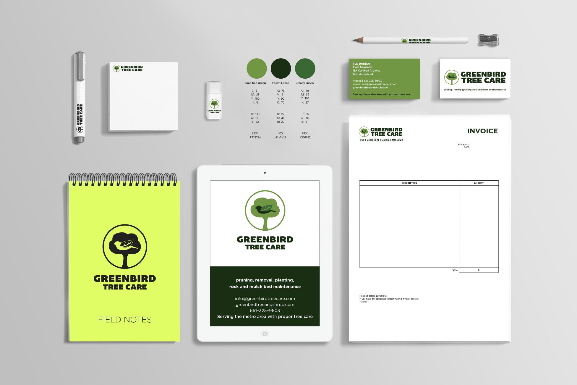 GreenBird Tree Care LLC Brand Refresh