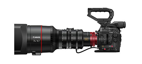 Cinema EOS System 8K camera (for illustrative purposes only)
