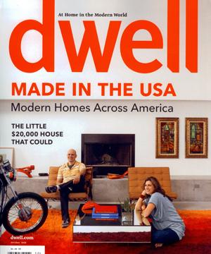 Dwell Magazine    October 2009   Park Modern  Building