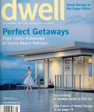 Dwell Magazine    July/August 2003  Whidbey Island Retreat
