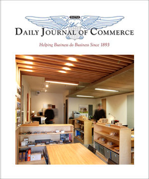 Daily Journal of Commerce    April 2009  BUILD LLC office remodel